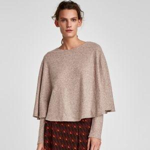 ZARA Sweater Poncho